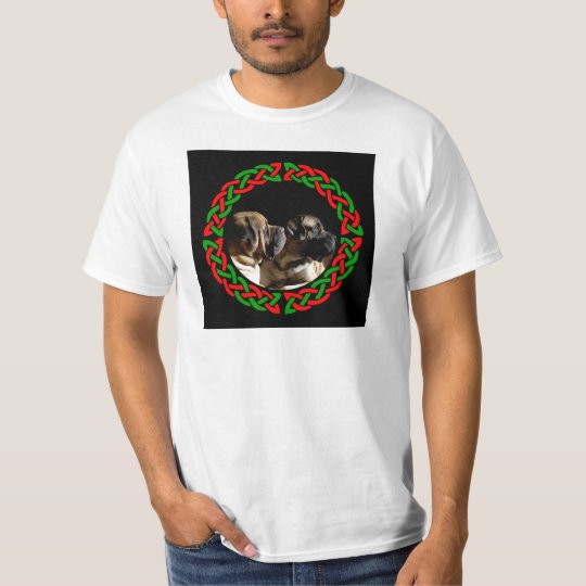 Celtic Holiday Mastiff Pair v2 Shirt