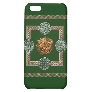 Celtic Horse Design iPhone 5C Cases