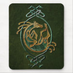 Celtic Horse - stone Mouse Pad