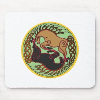 celtic horse yin yang mousepads