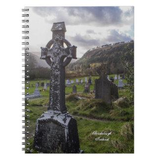 Celtic Idyll Spiral Notebook