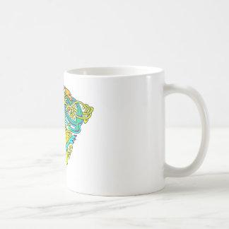 Celtic Illumination - Dog Knot Coffee Mugs