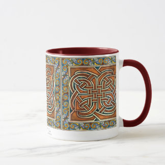 Celtic Interlace Panels Mug
