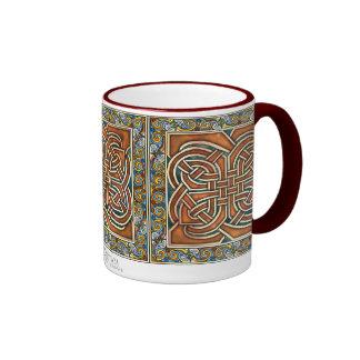 Celtic Interlace Panels Mug
