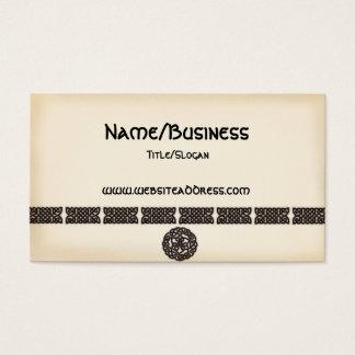 Celtic Irish Bars & Symbols Design Business Cards