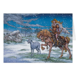 Celtic Irish Christmas Card Finnchoem