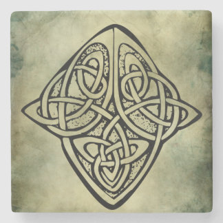 celtic irish sacred symbols stone coaster