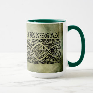celtic irish surname sacred symbols mug