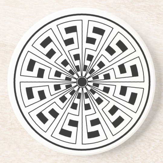 Celtic key Coaster
