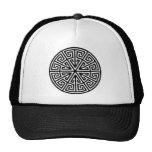 Celtic key pattern Hat