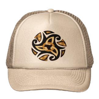 Celtic Knot 10 Gold Trucker Hat