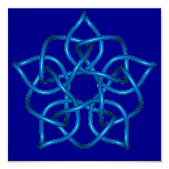Celtic Knot 11 Poster