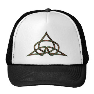 Celtic knot celtic knot mesh hat