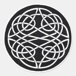 Celtic Knot Classic Round Sticker