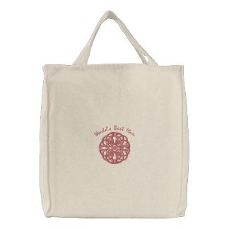 Celtic Knot - Coral - World's Best Mom Bag