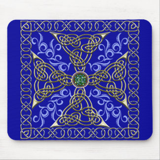 Celtic Knot Cross Mousepad