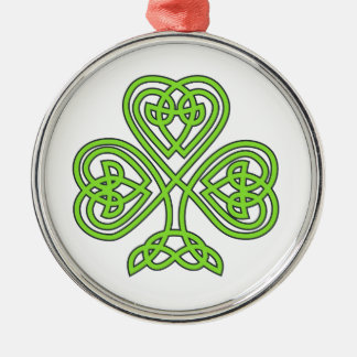 Celtic Knot Cross Tree Christmas Ornament