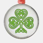 Celtic Knot Cross Tree Christmas Tree Ornament