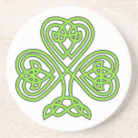 Celtic Knot Cross Tree Drink Coasters