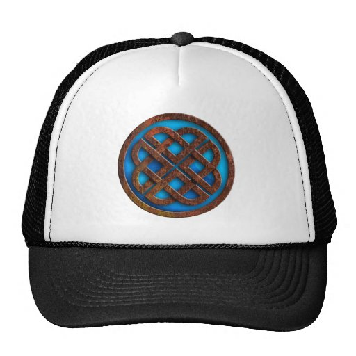 celtic knot mesh hat