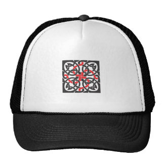 Celtic Knot Mesh Hat