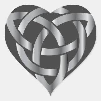 Celtic Knot Heart Sticker