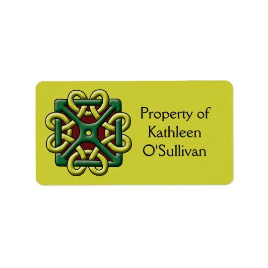 Celtic Knot Label Address Label