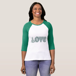 Celtic Knot Love, St Patrick's Day, Irish Letters T-Shirt