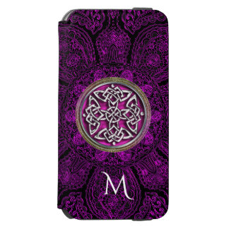 Celtic Knot Mandala Monogram Otterbox Incipio Watson™ iPhone 6 Wallet Case