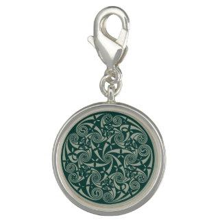 Celtic Knot Medallion Round Design, Irish Artwork