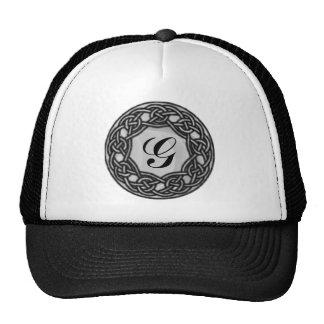 Celtic Knot Monogram Hat