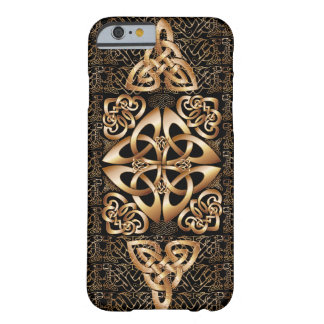 Celtic Knot on black Barely There iPhone 6 Case