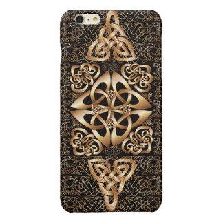 Celtic Knot on black iPhone 6 Plus Case