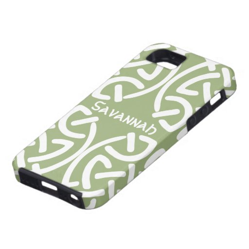 Celtic Knot Pattern Any Color Personalized iPhone iPhone 5 Cases