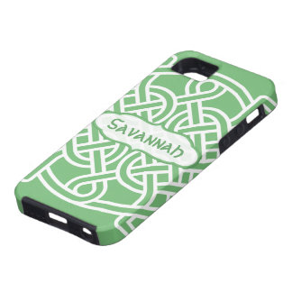 Celtic Knot Pattern Any Color Personalized iPhone iPhone 5 Cover