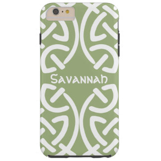 Celtic Knot Pattern Any Color Personalized iPhone Tough iPhone 6 Plus Case