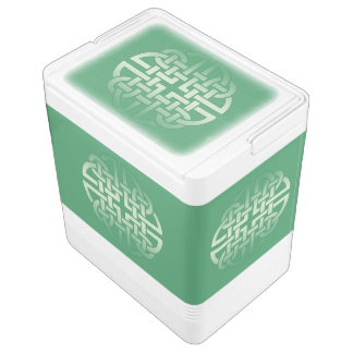 Celtic Knot Pattern on editable background colour Igloo Cooler