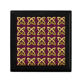 Celtic Knot Pattern Tile Gift Box