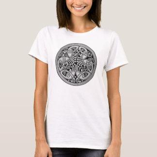 Celtic Knot Silver Birds & Black -Women's T-Shirt