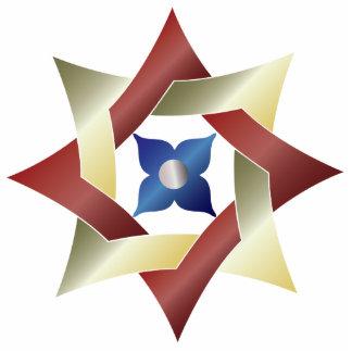 Celtic Knot Star 1 ,- Ornament Sculpture Photo Sculpture Decoration