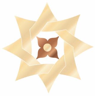 Celtic Knot Star 7- Ornament Sculpture Photo Sculpture Decoration