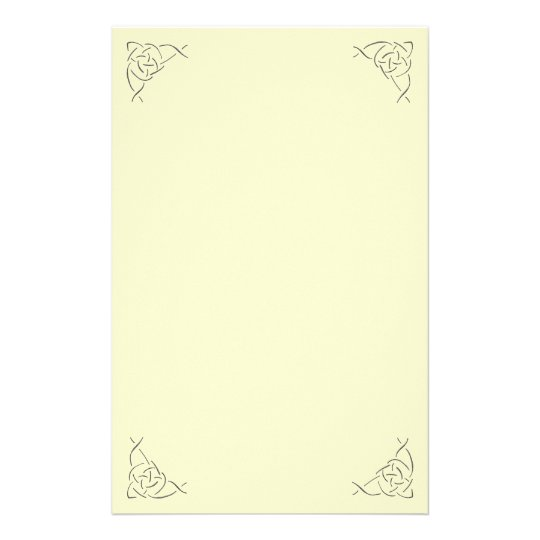 Celtic Knot Stationary Stationery