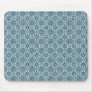 Celtic Knot Teal Blue Pattern Mouse Mat