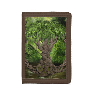Celtic Knot Tree Tri-fold Wallet