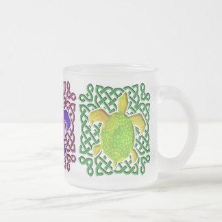 Celtic Knot Turtle Mugs