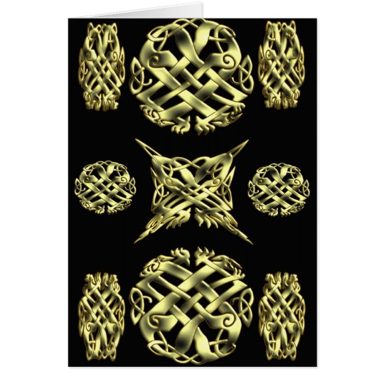CELTIC KNOT WORK 4 CARD
