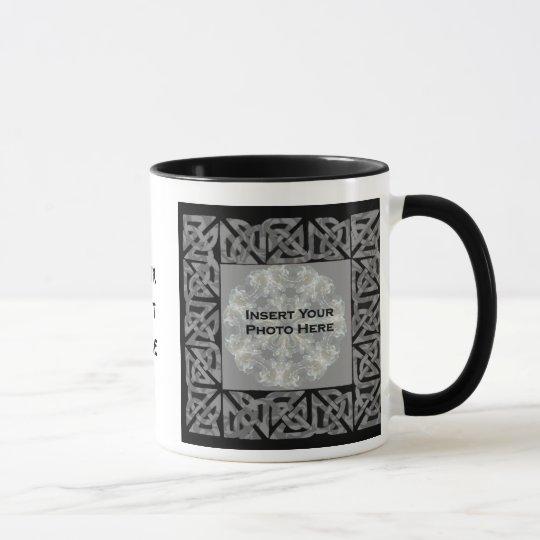 Celtic Knots Design Photo Mug