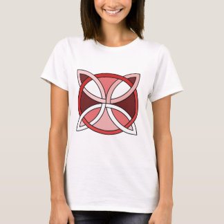 Celtic Knotwork Design - Interlacing Red T-Shirt