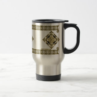 Celtic Knotwork Mugs, Bird Design Stainless Steel Travel Mug