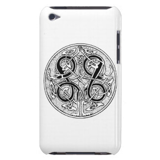 Celtic knotwork on any color barely there iPod case
